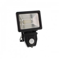 Well Προβολέας LED 10W SMD με αισθητήρα FloodLight- LEDSMD-SHINY10